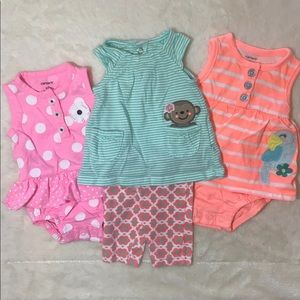 NB Carter's summer outfit lot